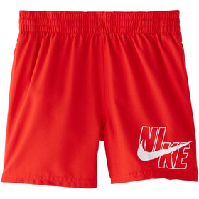 Nike Swim Logo Solid Short Volley 4'' Garçon, university red